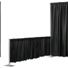 Rental store for DRAPE,  3  BLACK, CLOTH in Camarillo CA