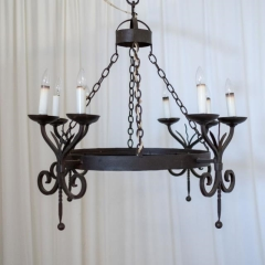 Rental store for LIGHT, CHANDELIER IRON 8 LT in Camarillo CA
