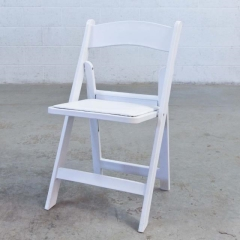 Where to rent CHAIRS, WHITE WEDDING FOLDING in Camarillo CA
