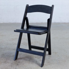 Where to rent CHAIRS, BLACK RESIN FOLDING in Camarillo CA