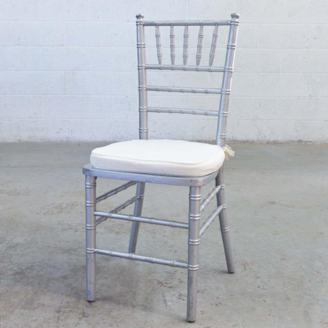 Where to rent CHAIRS, CHIAVARI SILVER in Thousand Oaks CA, Ventura, Oxnard, Camarillo, Simi Valley California
