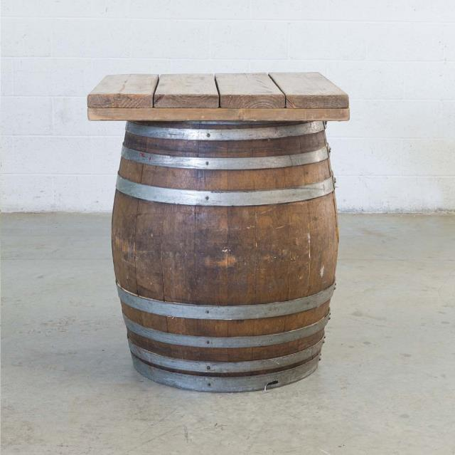 Where to rent WINE BARREL, WOOD TOP 30  SQ in Thousand Oaks CA, Ventura, Oxnard, Camarillo, Simi Valley California