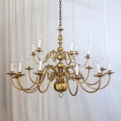 Rental store for LIGHT, CHANDELIER BRASS 18 LT in Camarillo CA