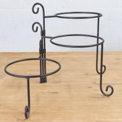Rental store for PLATE RACK, SWIVEL BLACK 3 TIER in Camarillo CA