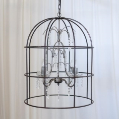 Rental store for LIGHT, CHANDELIER METL BIRDCAGE in Camarillo CA