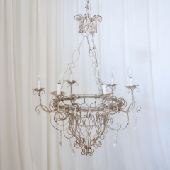 Rental store for LIGHT, CHANDELIER IVORY WIRE in Camarillo CA