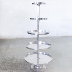 Rental store for PASTRY SERVER, 5 TIER NICKLE in Camarillo CA