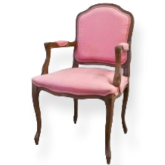 Rental store for VINTAGE, ARM CHAIR PINK in Camarillo CA