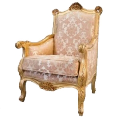 Rental store for VINTAGE, CHAIR UPHOLST. GOLD in Camarillo CA