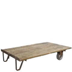 Rental store for VINTAGE, CART INDUSTRIAL COFFEE TABLE in Camarillo CA
