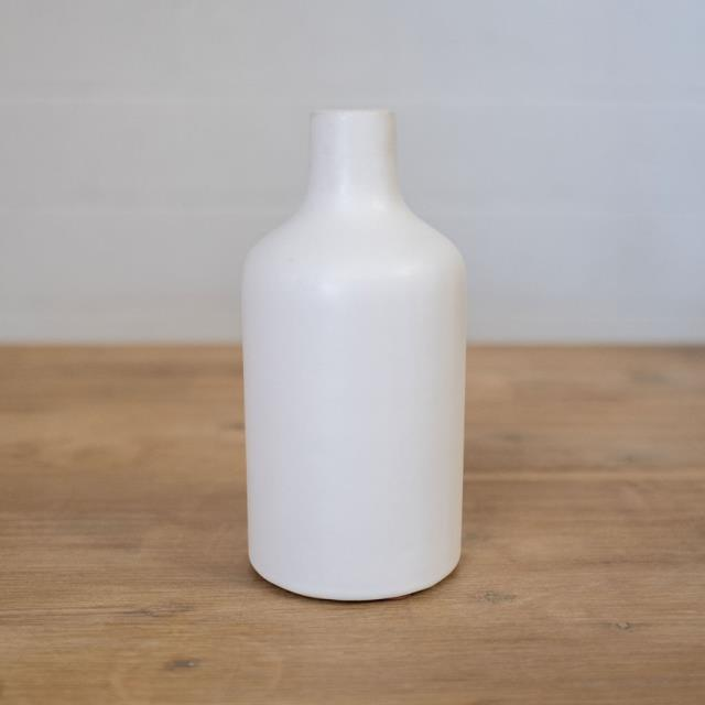 Where to find VASE, WHITE CERAMIC BOTTLE 9 in Camarillo