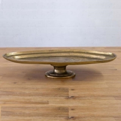 Rental store for CAKE STAND, ANT GOLD OVAL in Camarillo CA