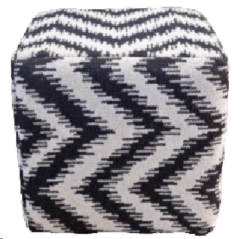 Rental store for LOUNGE, POUF BK WH AZTEC in Camarillo CA