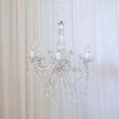 Rental store for LIGHT, CHANDELIER BEADED 6 LT in Camarillo CA