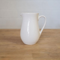 Rental store for PITCHER, CERAMIC IVORY PLAIN in Camarillo CA