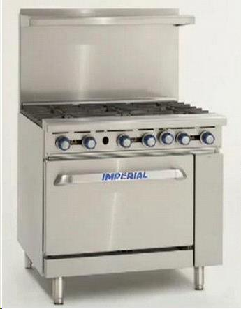 Where to find OVEN, 6 BURNER STOVE COMBO -AMER. RANGE in Camarillo