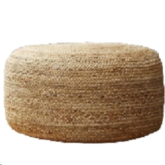 Rental store for LOUNGE, POUF BRAIDED HEMP in Camarillo CA