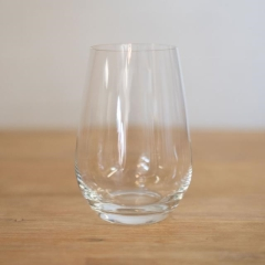 Rental store for GLASS, WINE 18.6 OZ CLEAR STEMLESS in Camarillo CA