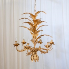 Rental store for LIGHT, CHANDELIER GOLD LEAF in Camarillo CA