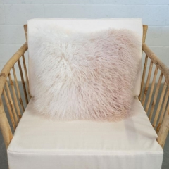 Rental store for PILLOW, SQ PINK WH FUR OMBRE in Camarillo CA