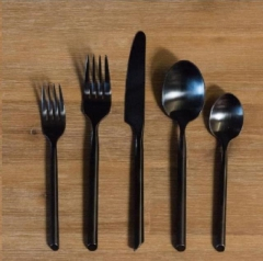 Rental store for MATTE BLACK FLATWARE in Camarillo CA