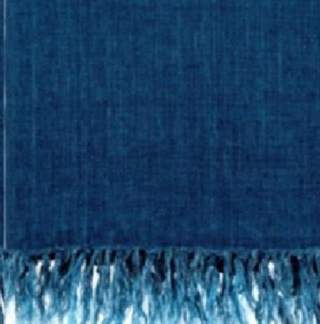Where to find TEXTILE, THROW FRINGED LINEN COBALT in Camarillo