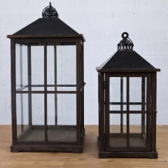 Rental store for 4 PANE WOOD LANTERNS in Camarillo CA