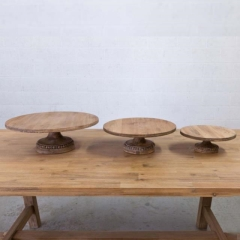 Rental store for WOOD BEADED CAKE STANDS in Camarillo CA
