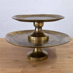 Rental store for ANTIQUE GOLD CAKE STANDS in Camarillo CA