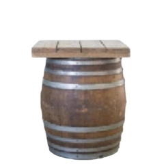 Rental store for WINE BARREL COCKTAIL TABLE in Camarillo CA