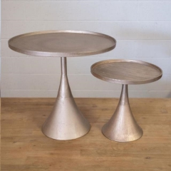 Rental store for BLUSH METALLIC CAKE STANDS in Camarillo CA