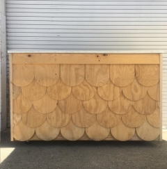Rental store for BAR, WOOD SCALLOP SM, 4.5 in Camarillo CA